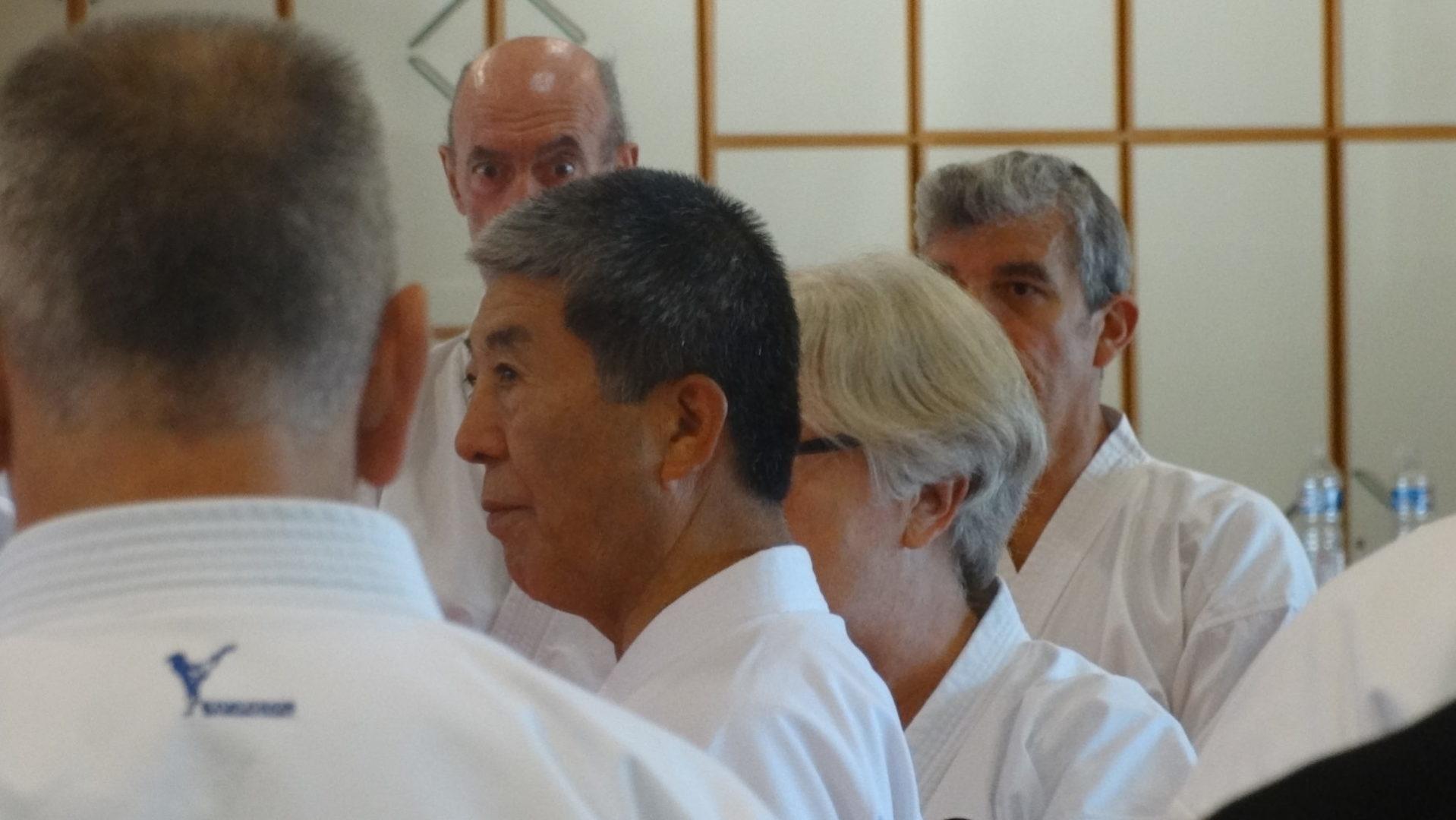 Stage Adaniya Seisuke Eperlecques du 29 Septembre 2018